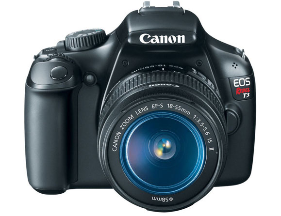 Canon Rebel T3 12.2 MP with 18-55mm Zoom Lens EOS 1100D