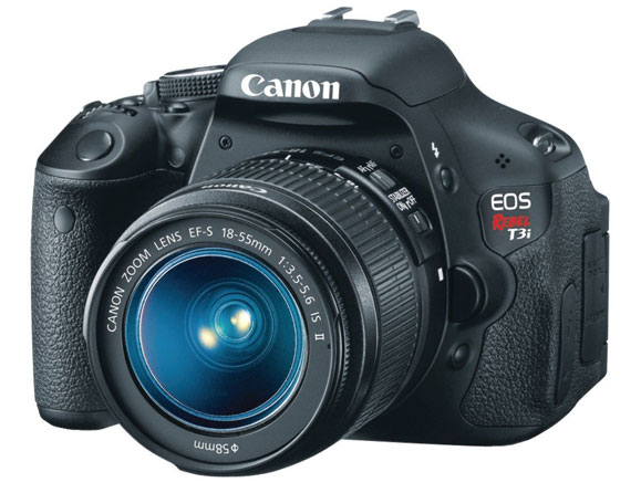 Canon Rebel T3i 18.7 MP with 18-55mm Zoom Lens EOS 600D