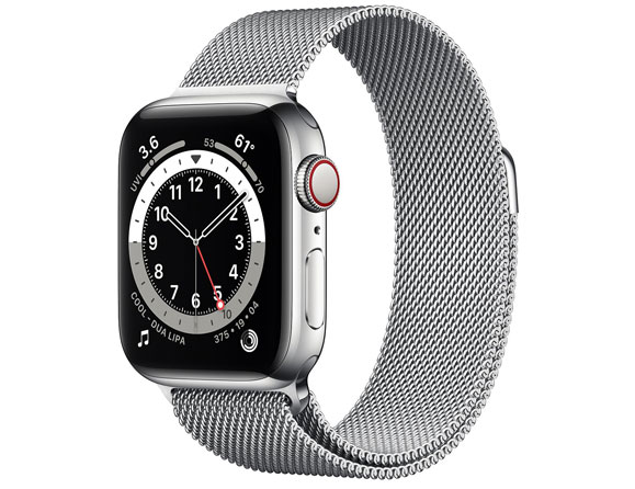 Stainless Steel Case 40mm (GPS + Cellular)