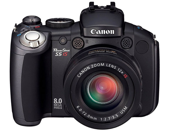 Canon PowerShot S5is 8.0 MP