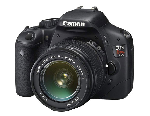 Canon Rebel T2i 18.7 MP with 18-55mm IS Lens EOS 550D