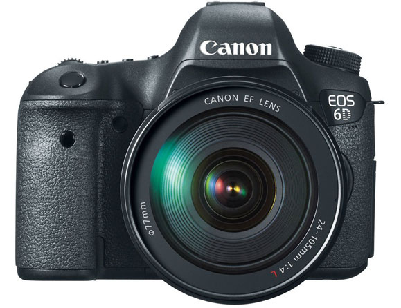 Canon EOS 6D 20.2 MP with 24-105mm Zoom Lens