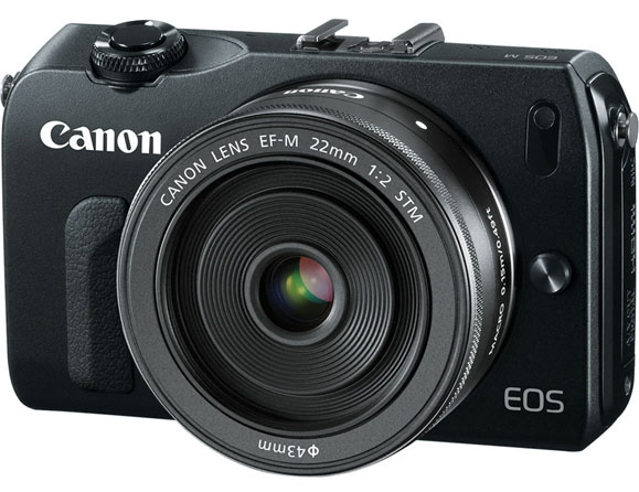 Canon EOS M 18.0 MP with 18-55mm Zoom Lens