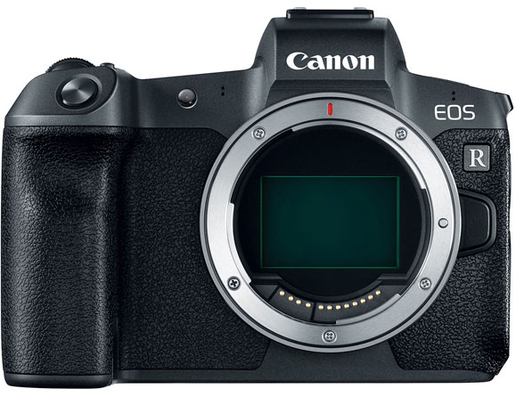 Canon EOS R 30.3 MP Body Only