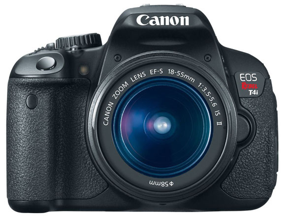 Canon Rebel T4i 18.0 MP with 18-55mm Zoom Lens EOS 650D