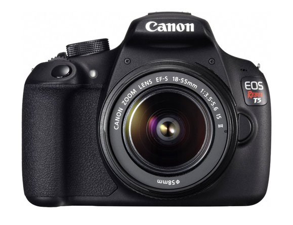 Canon Rebel T5 18.0 MP with 18-55mm Zoom Lens EOS 1200D