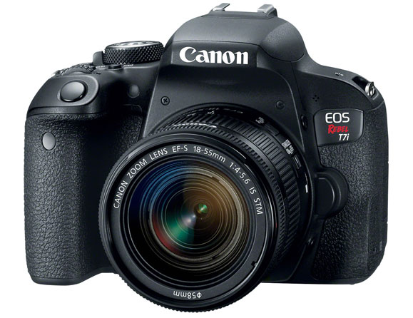 Canon Rebel T7i 24.2 MP with 18-135mm IS STM Lens
