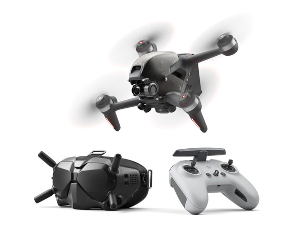 DJI FPV Combo Drone with Goggles V2 and Controller
