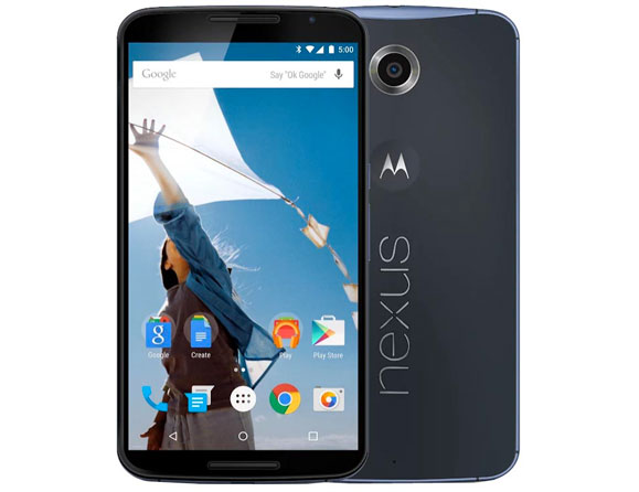 Motorola Google Nexus 6 4G LTE 16 GB 5.96""