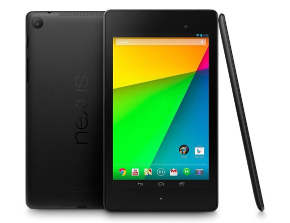 ASUS Google Nexus 7 Wi-Fi 32 GB 2nd Generation 7""