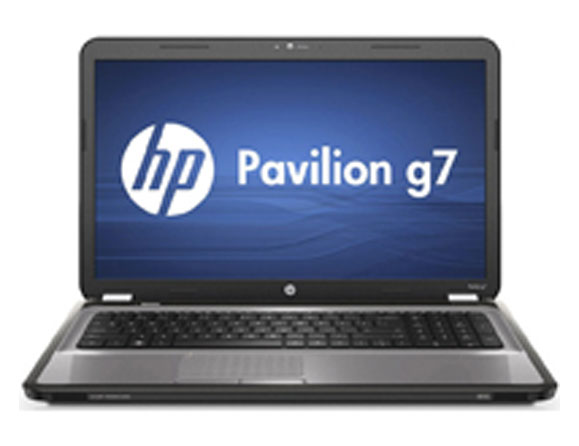 HP Pavilion g7 AMD 1.6 to 2.4 GHz 17.3""