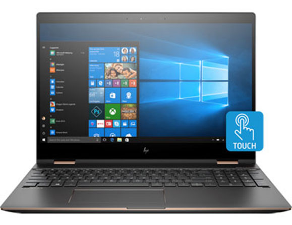 HP Spectre 360 15t 1 TB Core i7 3.1 GHz 15.6""
