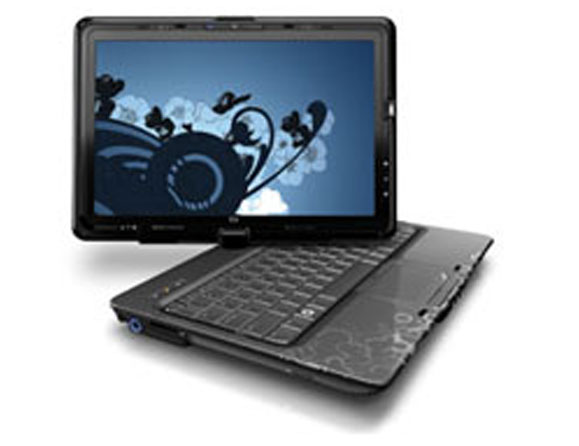 HP TouchSmart tx2 Turion X2 Dual-Core 2.2 to 2.4 GHz 12.1""
