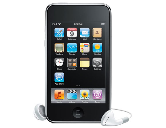 Apple iPod touch 3rd Gen 64 GB Black MC011LL/A