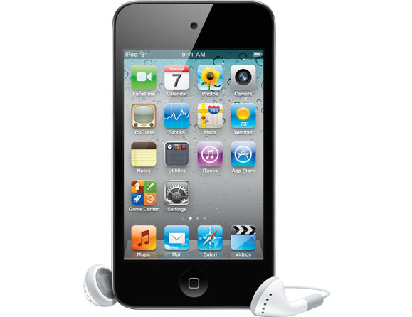 Apple iPod touch 4th Gen 32 GB Black MC544LL/A