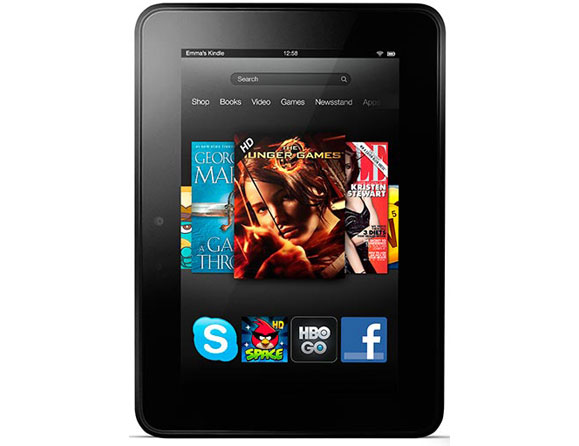 Amazon Kindle Fire HD 16 GB Wi-Fi 7""
