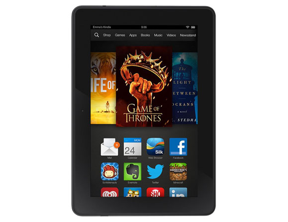 Amazon Kindle Fire HDX 64 GB Wi-Fi + 4G LTE 7""