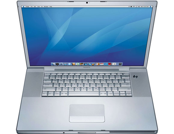 "Apple MacBook Pro Core 2 Duo 2.4 GHz 17"" MA897LL/A"