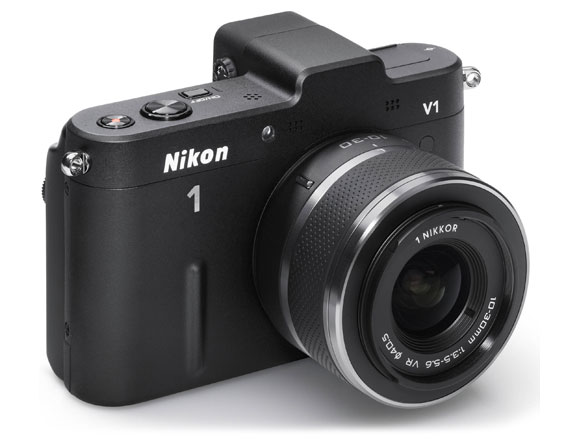 Nikon V1 10.1 MP with 10-30mm Zoom Lens
