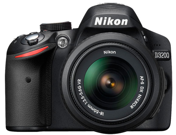 Nikon D3200 24.2 MP with 18-55mm VR Zoom Lens