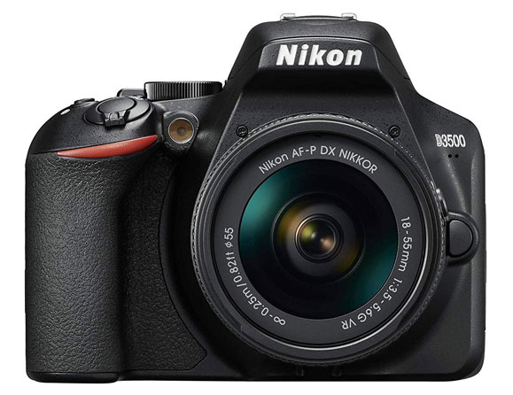 Nikon D3500 24.2 MP with 18-55mm VR Zoom Lens