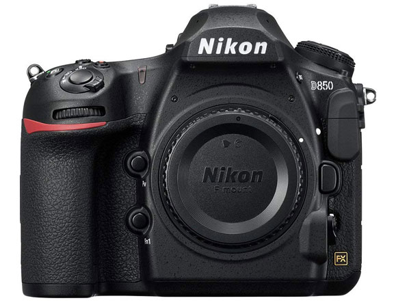 Nikon D850 45.7 MP FX-Format Body Only