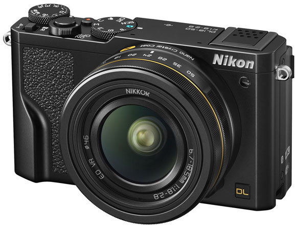 Nikon DL18-50 20.8 MP with 18-50mm Lens