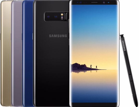 "Samsung Galaxy Note 8 64 GB (Verizon) 6.3"" SM-N950U"