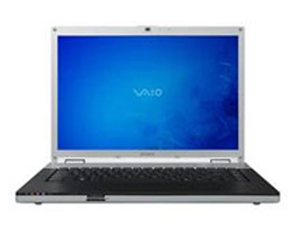Sony Vaio VGN-FZ Core 2 Duo 1.83 to 2.10 GHz 15.4""
