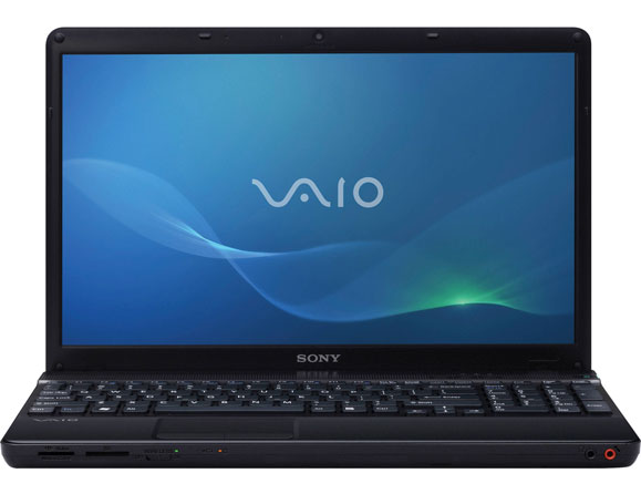 Sony Vaio VPC-EB Core i3 2.1 to 2.53 GHz 15.5""